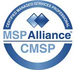 Certified Managed Service Professional - MSP Alliance - CMSP